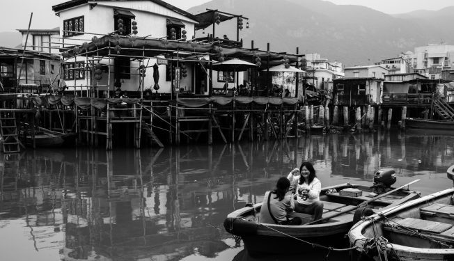 tai o, village, hong kong, town on water, stilt village